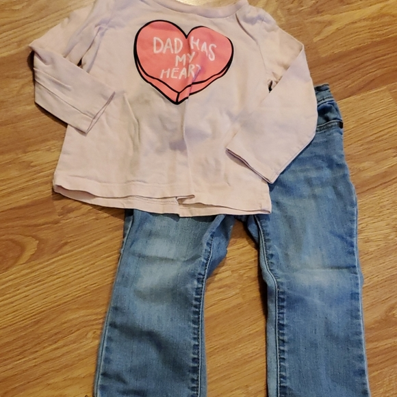 Girls outfit set